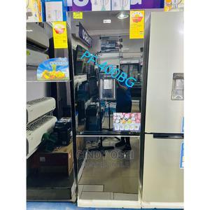 Precious Pearl 400bg Fridge Mirror Design 308liters | Kitchen Appliances for sale in Greater Accra, Adabraka