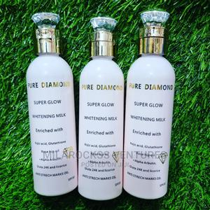 Pure Diamond Super Glow Whitening Milk.   Skin Care for sale in Greater Accra, Darkuman
