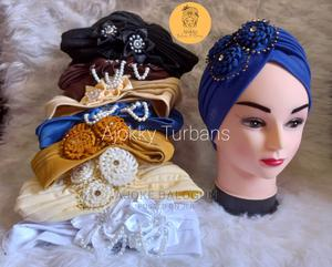 Sweet Rose Turban Cap Wholesale | Clothing Accessories for sale in Greater Accra, Korle Gonno
