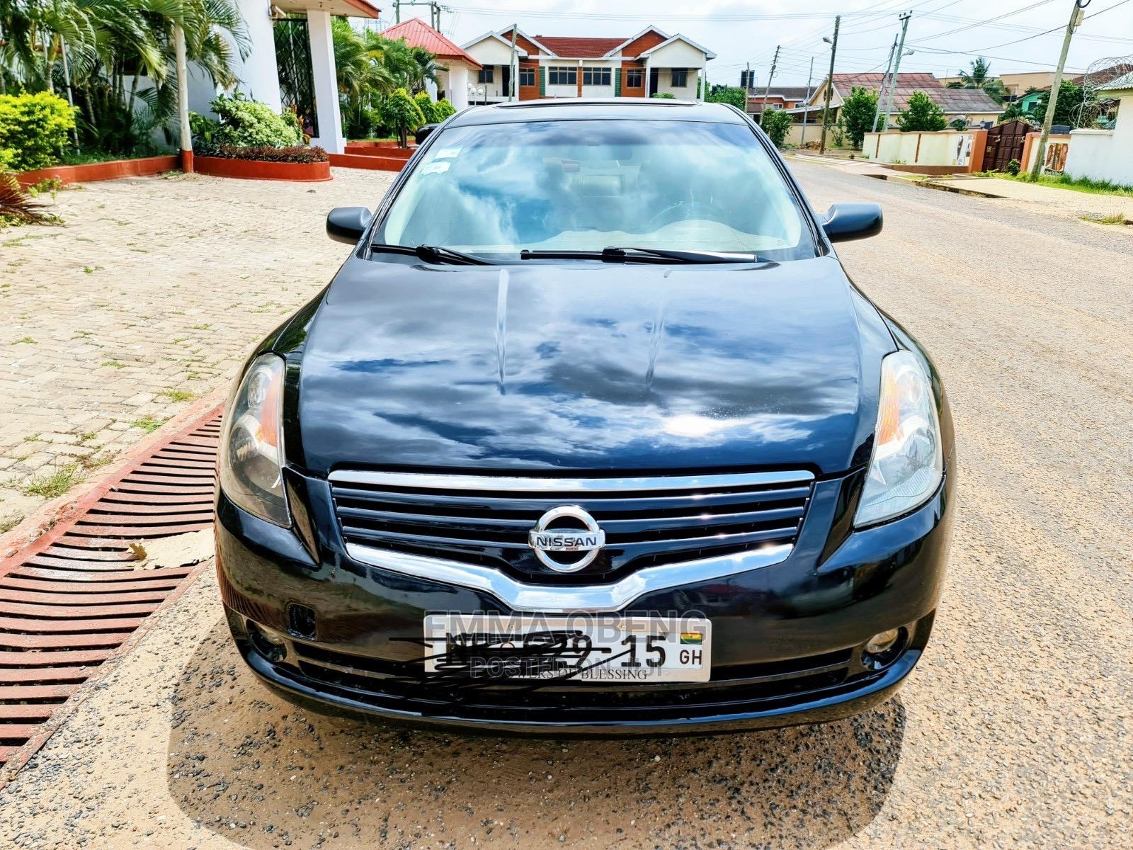 Nissan Altima 2007 Black | Cars for sale in Madina, Greater Accra, Ghana
