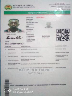 Driver's CV   Driver CVs for sale in Eastern Region, Birim Central Municipal
