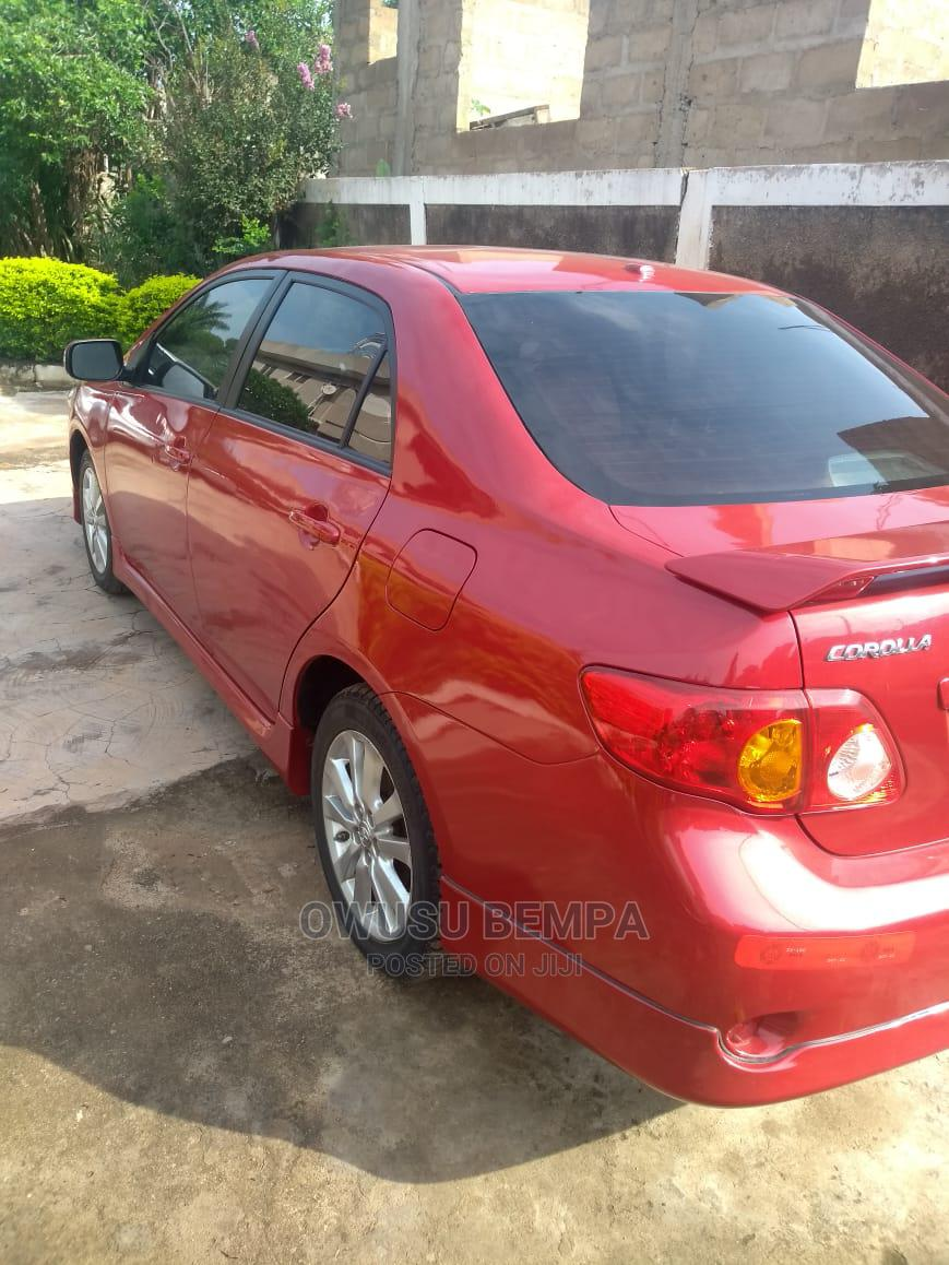 Toyota Corolla 2010 Red   Cars for sale in Accra Metropolitan, Greater Accra, Ghana