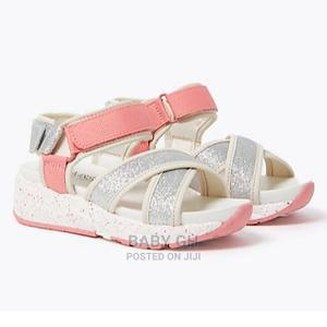 White and Pink Marks and Spencer Sandals | Children's Shoes for sale in Greater Accra, Accra Metropolitan