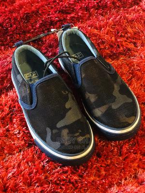 F F Blue Camouflage Sneakers | Children's Shoes for sale in Greater Accra, Accra Metropolitan
