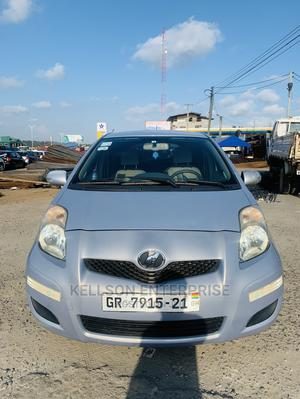 Toyota Vitz 2010 1.3 FWD 3dr Silver | Cars for sale in Greater Accra, Akweteyman