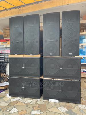 4 Speaker Full Set   Audio & Music Equipment for sale in Greater Accra, Accra Metropolitan