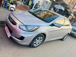Hyundai Accent 2012 GLS Silver   Cars for sale in Greater Accra, East Legon