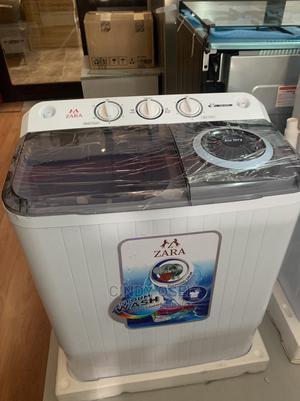 Longer Lasting Zara 5kg Twin Tub Washing Machine Semi Auto | Home Appliances for sale in Greater Accra, Adabraka