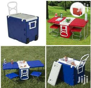 Neat Rolling Picnic Ice Chest/Cooler   Camping Gear for sale in Central Region, Cape Coast Metropolitan