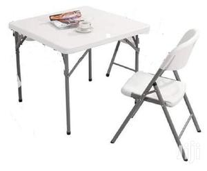 White Foldable Table   Furniture for sale in Greater Accra, Adabraka