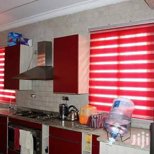 Red Curtains Blinds With Free Installation | Building & Trades Services for sale in Greater Accra, Dansoman