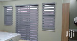 Ash Zebra Curtains Blinds With Free Installation | Building & Trades Services for sale in Greater Accra, Mataheko
