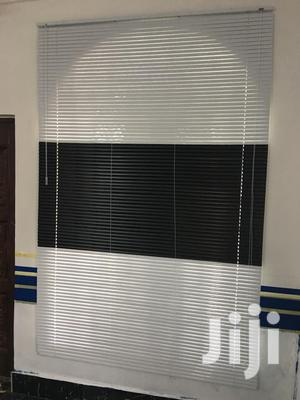 White and Black Venetian 🤩 Curtains Blinds | Home Accessories for sale in Greater Accra, Ridge