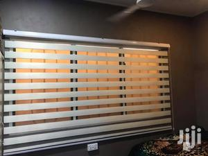 Creamy White Zebra Curtains Blinds | Home Accessories for sale in Greater Accra, Adenta