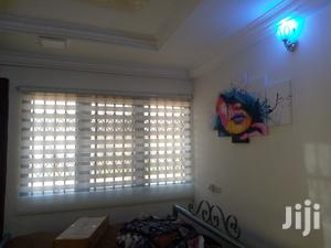 White Zebra Blinds With Wall Canvas Art | Home Accessories for sale in Greater Accra, Adenta