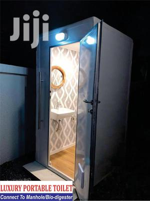 Portable Luxury Toilet Connects To Biofil & Manhole | Other Services for sale in Kaneshie, North Kaneshie