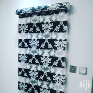 Flower Black and White Zebra Curtains Blinds | Home Accessories for sale in Greater Accra, Accra Metropolitan