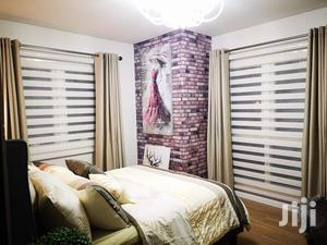 Cloudy White Windows Curtains Blinds | Home Accessories for sale in Greater Accra, Accra Metropolitan