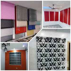 Cute Window Curtains Blinds For Homes And Offices | Home Accessories for sale in Greater Accra, Tema Metropolitan