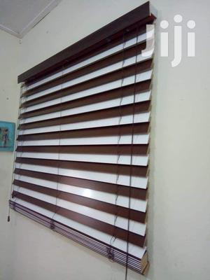 Brown and White Wooden Blinds | Home Accessories for sale in Greater Accra, Control