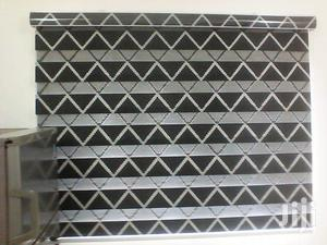 Black And White Line Zebra Blinds Curtains For Homes And Offices | Home Accessories for sale in Greater Accra, Airport Residential Area