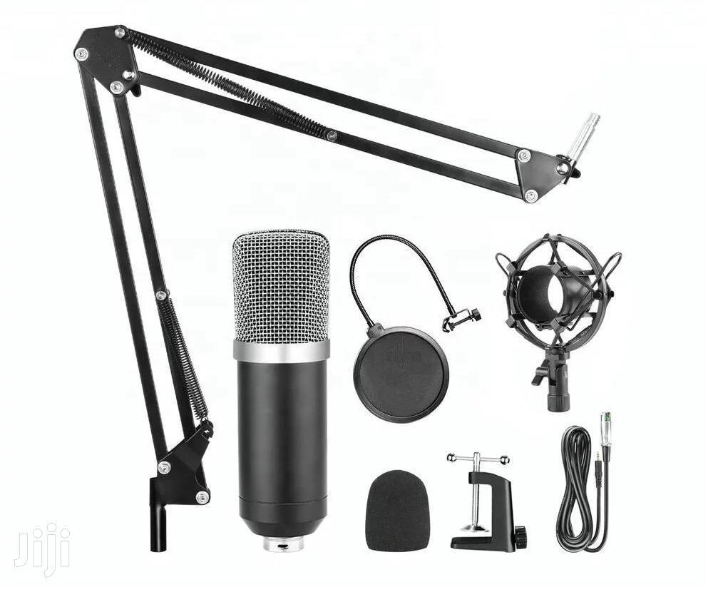 Pro Audio Studio Condenser Recording Microphone [FULL KIT]