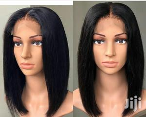 12 Inches Indian Hair Blunt Cut Bob | Hair Beauty for sale in Greater Accra, Darkuman