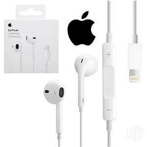 iPhone Lightining Cable and Ear Piece With Lighting Connector   Headphones for sale in Greater Accra, Adabraka