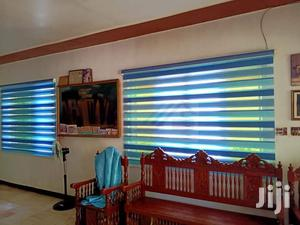 Sea Blue Window Curtains Blinds for Homes and Offices | Home Accessories for sale in Greater Accra, Tema Metropolitan