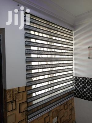 Black And White Stripes Curtains Blinds | Home Accessories for sale in Greater Accra, Accra Metropolitan