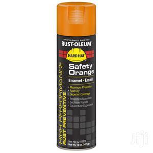 Rust-oleum High Performance Enamel Safety Orange Spray | Building Materials for sale in Kaneshie, North Kaneshie