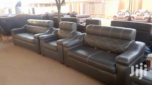 VIP Leather Living Room Furniture Sofa Set | Furniture for sale in Ashanti, Kumasi Metropolitan
