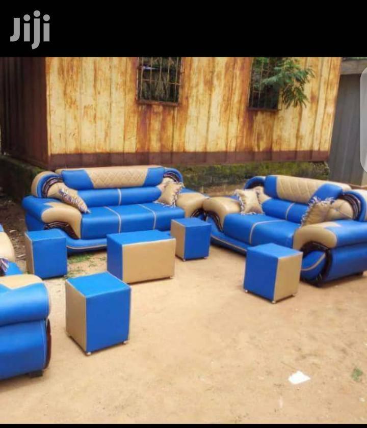Leather Sofa Living Room Furniture