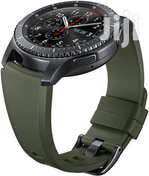 Samsung Gear S3 Silicone Replacement Band - Green Khaki | Watches for sale in Greater Accra, Kokomlemle