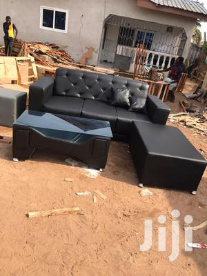 Leather Sofa Sofa Set   Furniture for sale in Greater Accra, Achimota