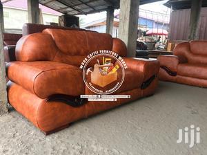 Simple Model Leather Sofa Furniture | Furniture for sale in Ashanti, Kumasi Metropolitan