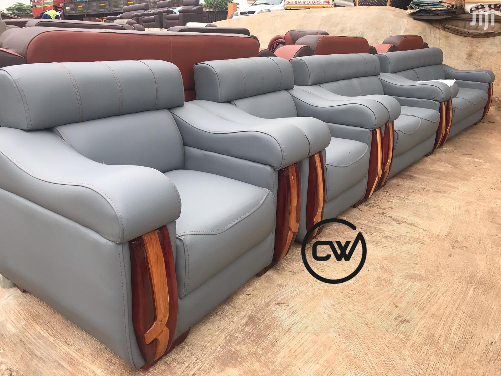 Archive: Leather Sofa Set