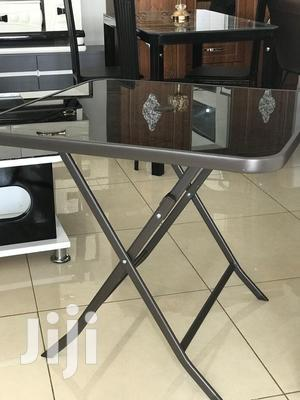 Foldable Glass Table   Furniture for sale in Greater Accra, Adabraka
