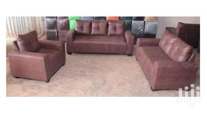 Nice Quality Leather Sofa Set   Furniture for sale in Greater Accra, Adabraka