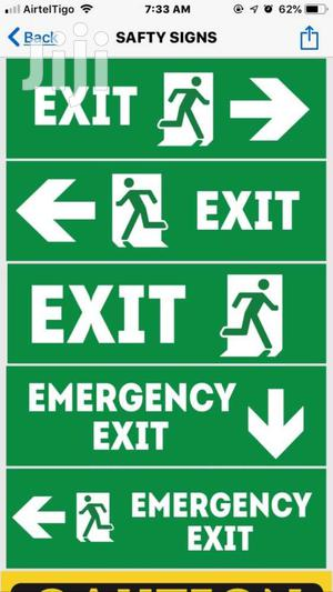 Safety Signage | Manufacturing Materials for sale in Greater Accra, Accra Metropolitan