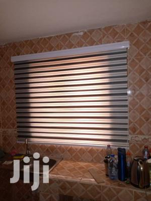 Black and White Stripes Curtains Blinds | Home Accessories for sale in Greater Accra, Dzorwulu