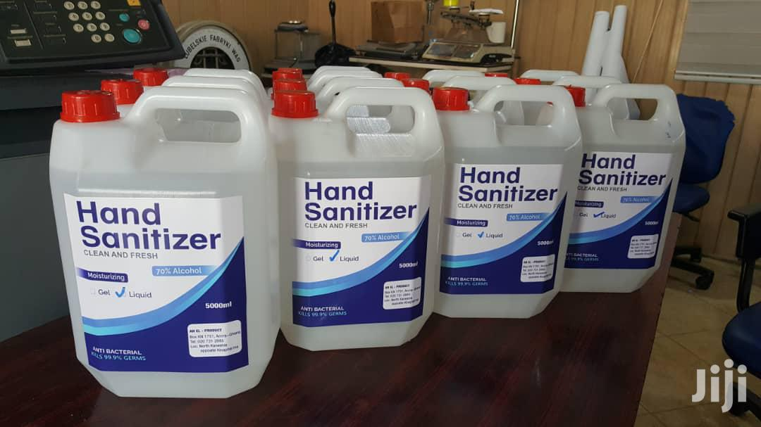 Hand Sanitizer | Medical Supplies & Equipment for sale in North Kaneshie, Kaneshie, Ghana