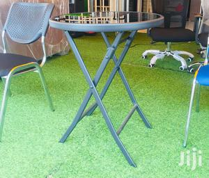 Foldable Round Table   Furniture for sale in Greater Accra, Adabraka