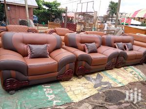 Multi Colored Leather Sofa Set   Furniture for sale in Ashanti, Kumasi Metropolitan