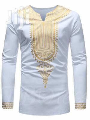 Designed Plain White African Wear | Clothing for sale in Greater Accra, East Legon