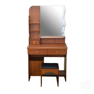 DRESSER WITH CABINET, MIRROR & STOOL | Furniture for sale in Greater Accra, Adenta