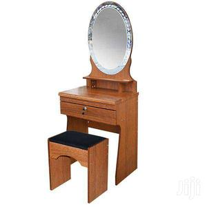 DRESSER WITH STOOL & CABINET BROWN | Furniture for sale in Greater Accra, Adenta