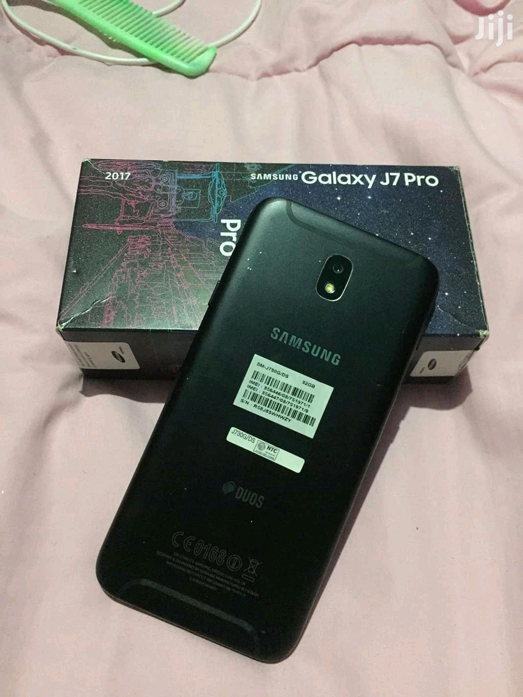 New Samsung Galaxy J7 Pro 32 GB Black   Mobile Phones for sale in Kumasi Metropolitan, Ashanti, Ghana