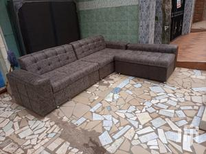 Promotion L Shaped Sofa Chair. Free Delivery | Furniture for sale in Greater Accra, Korle Gonno