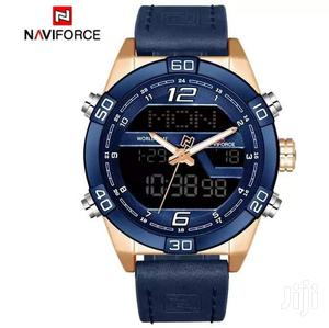 Naviforce 9128 Multifunctional Leather Watch   Watches for sale in Greater Accra, Accra Metropolitan